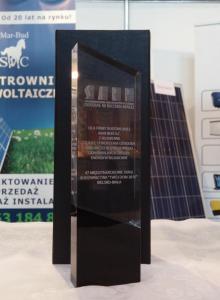 Nagroda dla idei budowy Ośrodka Badawczo-Rozwojowego Odnawialnych Źródeł Energii w Bujakowie